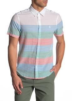 Original Penguin Engineered Stripe Heritage Slim Fit Shirt