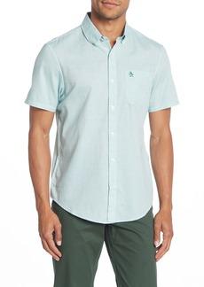 Original Penguin Feeder Stripe Short Sleeve Heritage Slim Fit Shirt