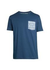 Original Penguin Fish-Print Pocket T-Shirt