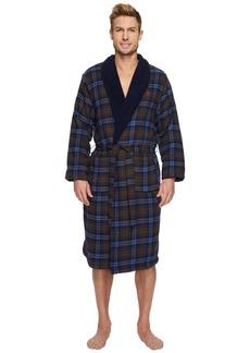 Original Penguin Fleece Line Robe