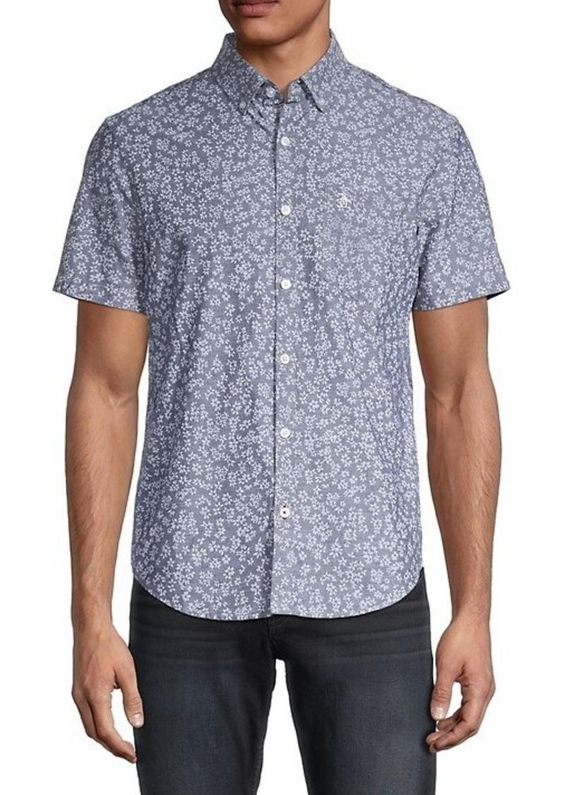 Original Penguin Floral Button-Down Shirt