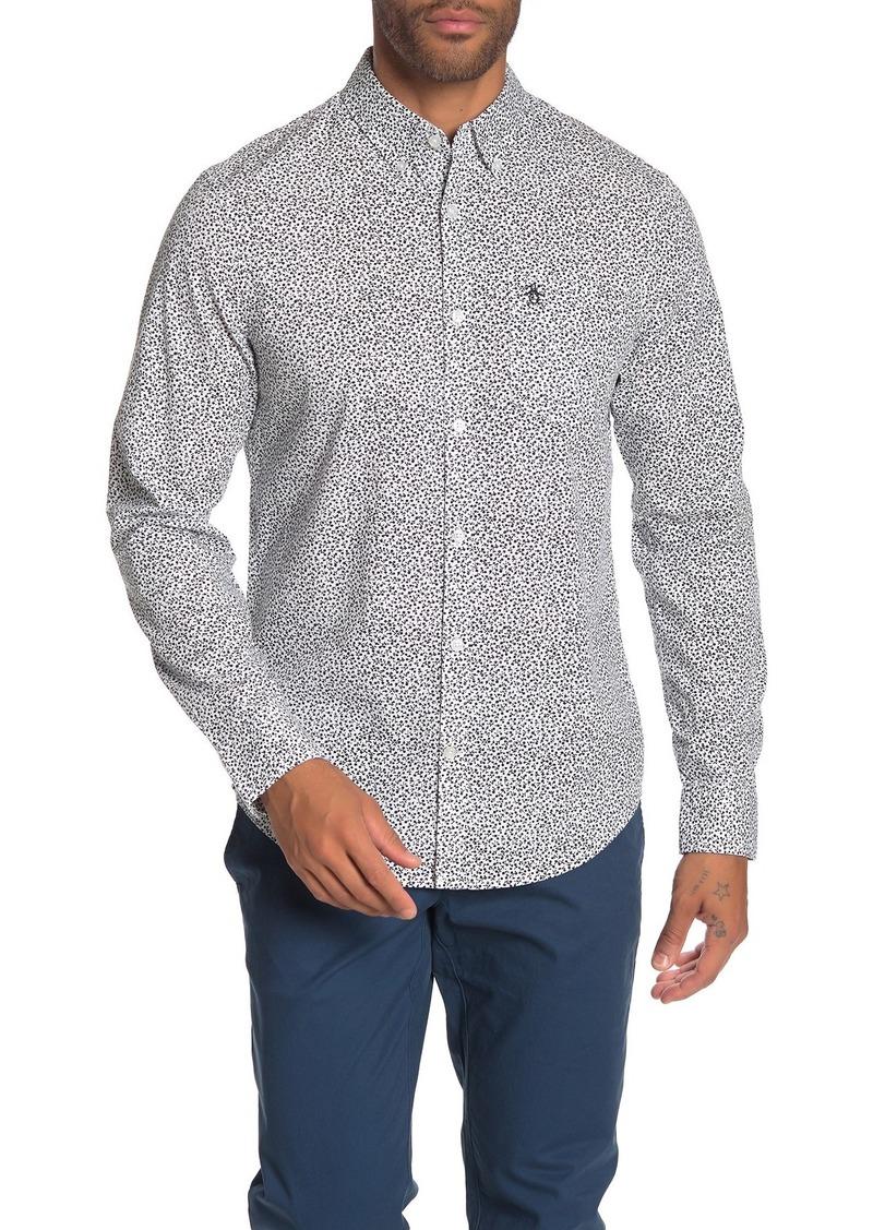 Original Penguin Floral Slim Fit Shirt