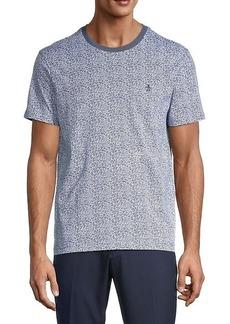 Original Penguin Floral-Print Cotton T-Shirt