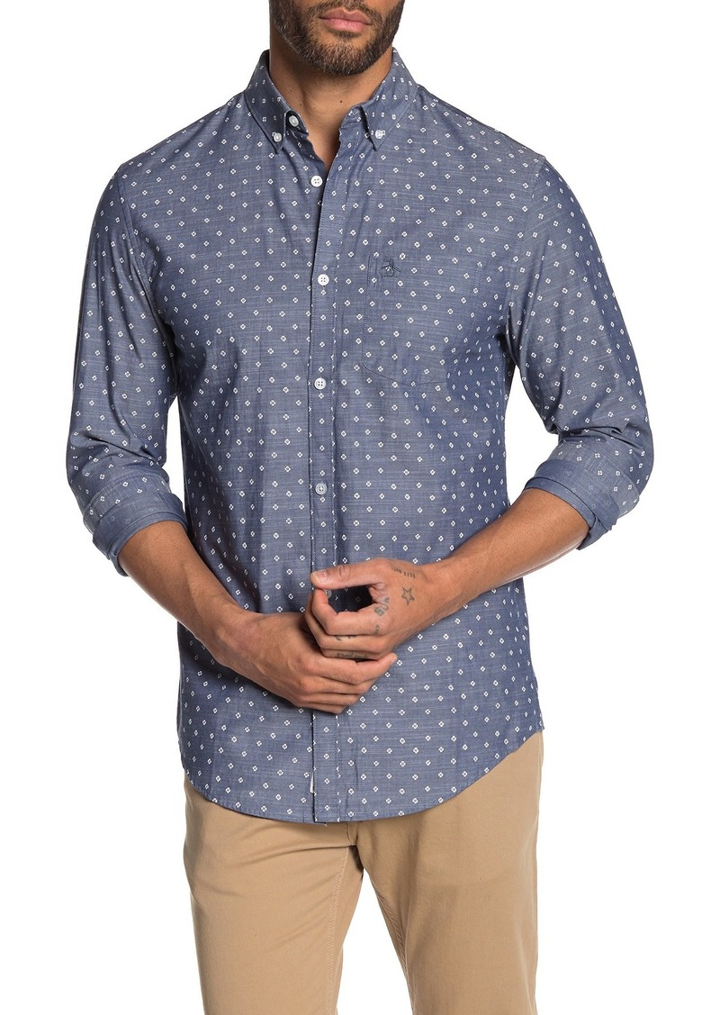 Original Penguin Floral Print Slim Fit Shirt