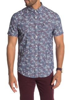 Original Penguin Floral Short Sleeve Shirt