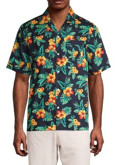 Original Penguin Floral Short-Sleeve Shirt