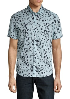 Original Penguin Flying Birds Button-Down Shirt