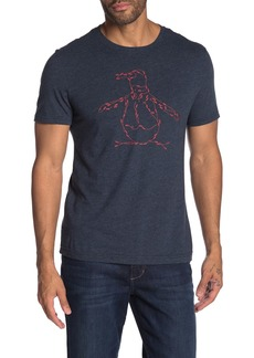 Original Penguin Footprint Brand Logo Graphic T-Shirt