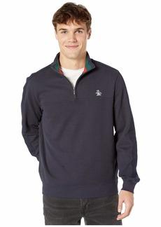 Original Penguin French Rib 1/4 Zip Long Sleeve Jacket