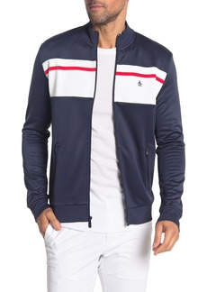 Original Penguin Front Zip Track Jacket