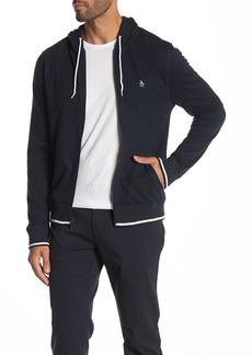 Original Penguin Full Zip Long Sleeve Hoodie