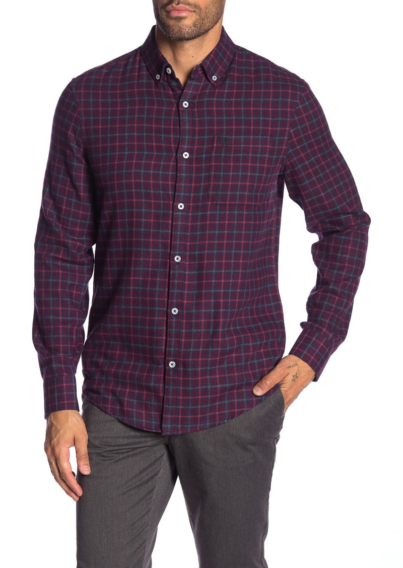 Original Penguin Gingham Long Sleeve Heritage Slim Fit Shirt