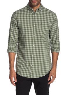 Original Penguin Gingham Print Long Sleeve Slim Fit Shirt