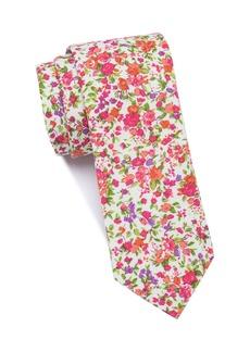 Original Penguin Grover Floral Skinny Tie