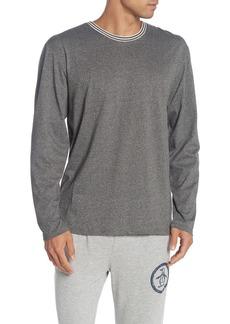 Original Penguin Heathered Long Sleeve Sleep Shirt