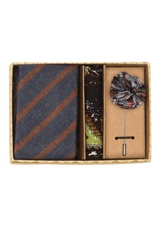 Original Penguin Hedlund Stripe 3-Piece Tie Set