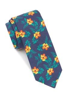 Original Penguin Hibiscus Digital Tie