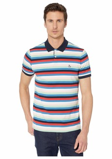 Original Penguin Horizontal Stripe Short Sleeve Polo Shirt