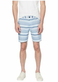 Original Penguin Horizontal Stripe Slim Fit Shorts