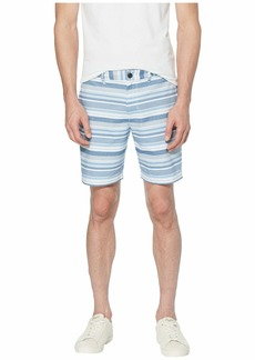 Original Penguin Horizontal Stripe Slim Fit Shorts