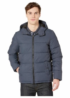 Original Penguin Insulated Melange Puffer Jacket