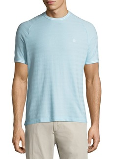 Original Penguin Jacquard Pique Stripe Tee Shirt