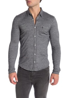 Original Penguin Jasper Long Sleeve Slim Fit Shirt