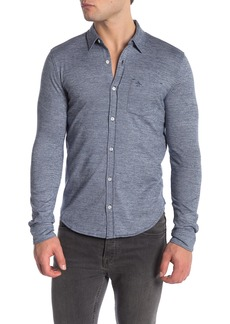 Original Penguin Jasper Long Sleeve Slim Fit Shirt