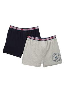 Original Penguin Knit Boxer Briefs - Pack of 2