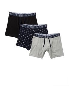 Original Penguin Knit Boxer Briefs - Pack of 3