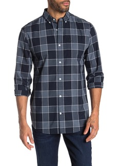 Original Penguin Large Plaid Print Slim Fit Shirt