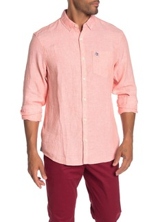 Original Penguin Linen Slim Fit Shirt