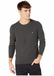 Original Penguin Tuck Stitch Long Sleeve Sweater
