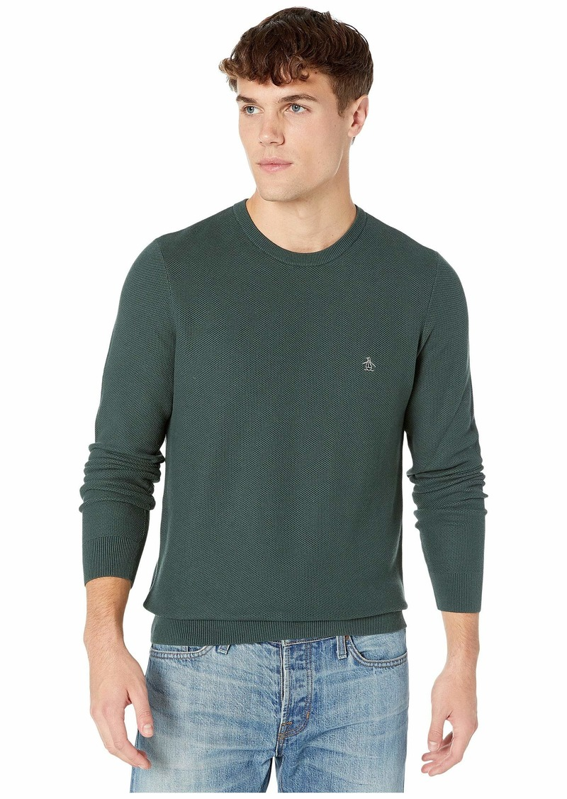 Original Penguin Honeycomb Stitch Sweater