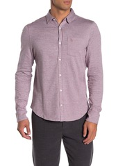 Original Penguin Long Sleeve Jasper Knit Shirt