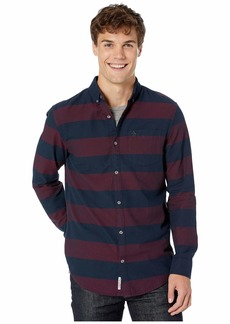 Original Penguin Long Sleeve Oxford Dobby Rugby
