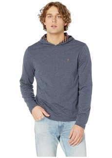 Original Penguin Long Sleeve Reversible Stripe Hoodie