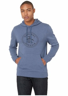 Original Penguin Long Sleeve Stamp Logo French Terry Hoodie