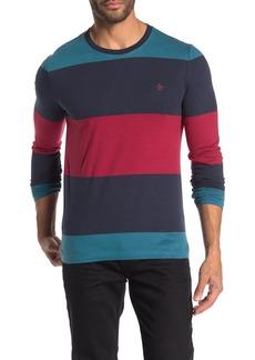 Original Penguin Long Sleeve Striped Shirt