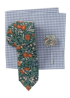 Original Penguin Madden Botanical Tie 3-Piece Set