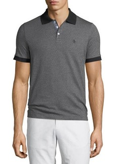 Original Penguin Men's Birdseye Pique Short-Sleeve Polo Shirt