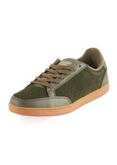 Original Penguin Men's Braylon Perforated Suede Sneakers