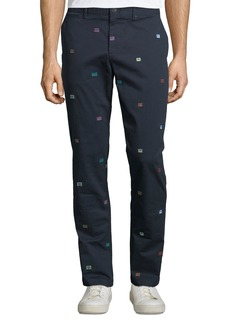 Original Penguin Men's Cassette Tape Cotton Stretch Pants