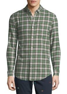 Original Penguin Men's Checkered-Plaid Flannel Sport Shirt