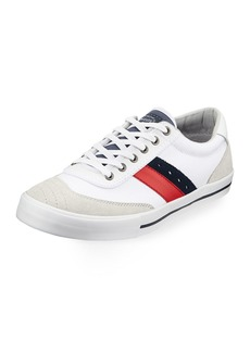 Original Penguin Men's Cole Canvas and Leather Sneakers