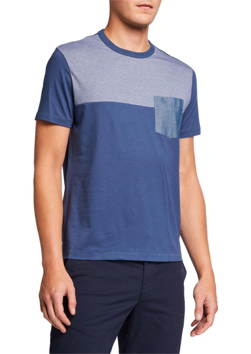 Original Penguin Men's Colorblock Pocket T-Shirt