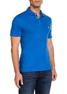 Original Penguin Men's Cotton/Linen Birdseye Polo Shirt