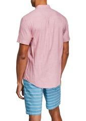 Original Penguin Men's Crosshatch Short-Sleeve Shirt
