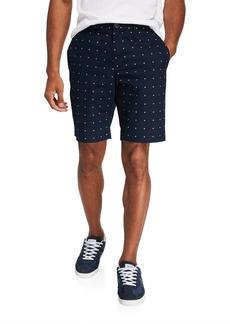 Original Penguin Men's Daisy-Print Shorts
