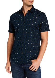 Original Penguin Men's Daisy Short-Sleeve Sport Shirt